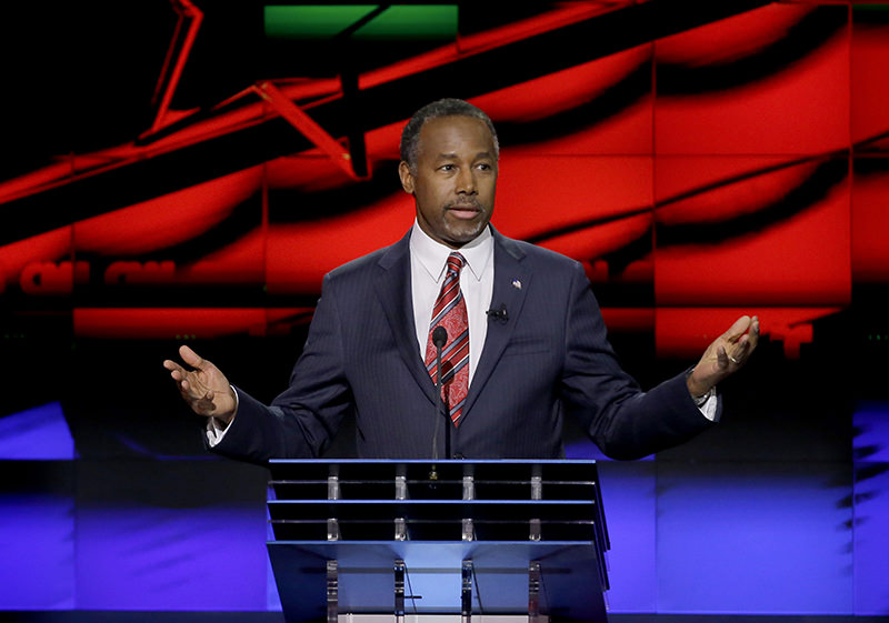 Carson said on March 2, 2016 that he does not see a ,political path forward, in his 2016 bid for the White House. (REUTERS Photo)