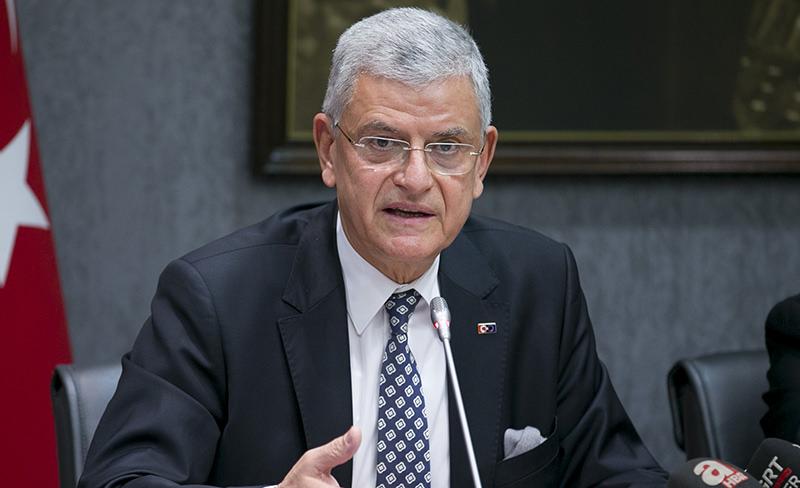 Turkey's EU Minister Volkan Bozku0131r (AA Photo)