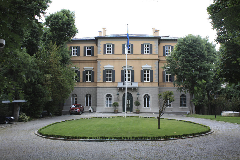 The Sweden Palace, pictured above, is the main building of the Swedish Consulate in Istanbul.