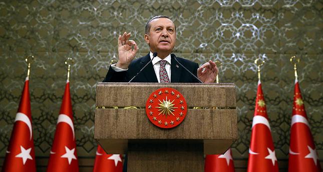 President Erdoğan expects PM Davutoğlu to return with 3B euros