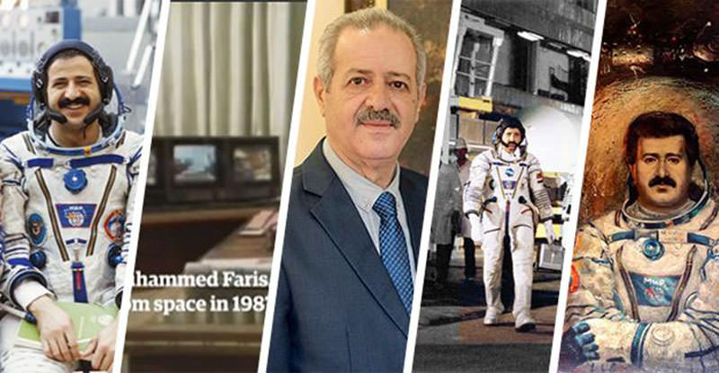 Muhammed Faris was a well-known Syrian hero as he was Syriau2019s first cosmonaut chosen for a team to be sent to space as part of the Soviet Interkosmos Program (DHA)