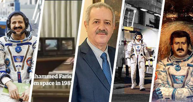 Muhammed Faris was a well-known Syrian hero as he was Syria's first cosmonaut chosen for a team to be sent to space as part of the Soviet Interkosmos Program (DHA)
