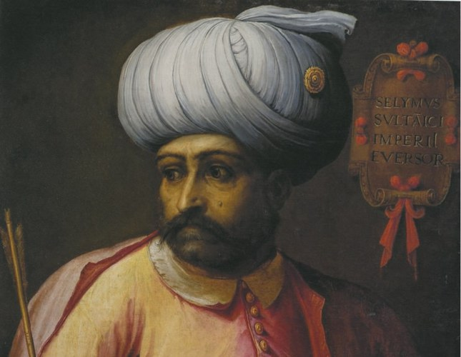 Sultan Selim I by an unknown European painter