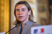 The EU foreign policy chief Federica Mogherini (AFP Photo)