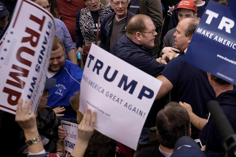 Supporters and opponents of Donald Trump clashed with each other in Chicago which led to the cancelation his rallies.