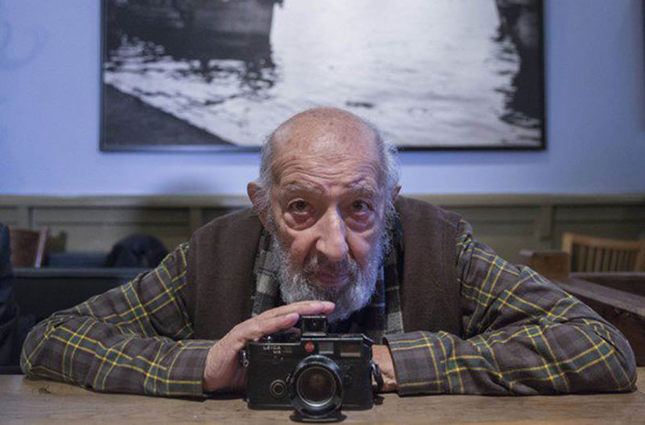 Photographer Ara Güler (IHA Photo)