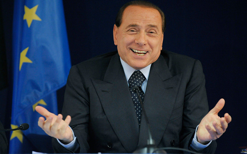 Photo shows former Italian premier Silvio Berlusconi. (FILE Photo)