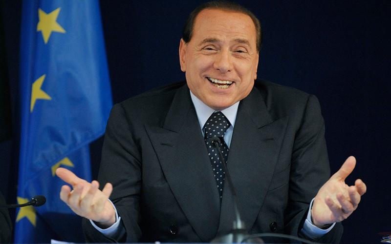Photo shows former Italian premier Silvio Berlusconi. (FILE Photo)