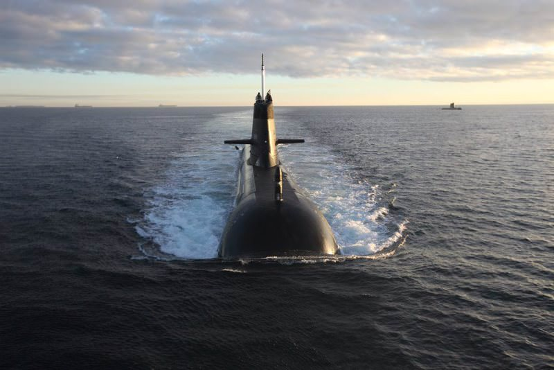 Royal Australian Navy (RAN) Collins Class submarines were captured while exercising off the coast of West Australia recently.