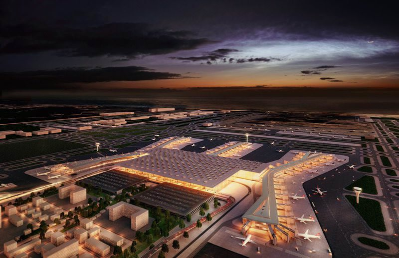 The Istanbul Real Estate Promotion Pavilion will include project mockups such as including one of the third Istanbul airport, which will be the biggest airport in the world once it is completed.