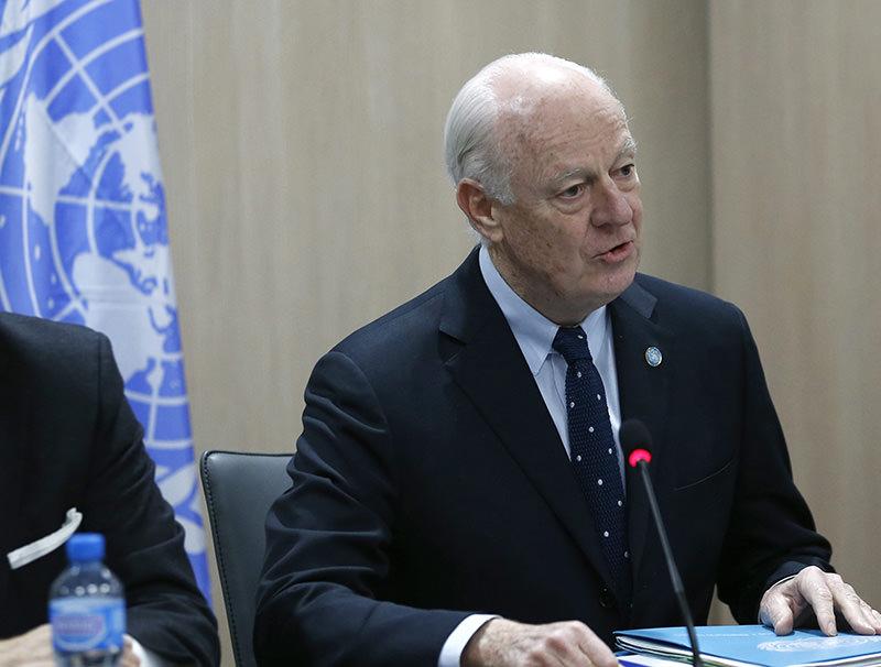 UN mediator for Syria Staffan de Mistura (EPA Photo)