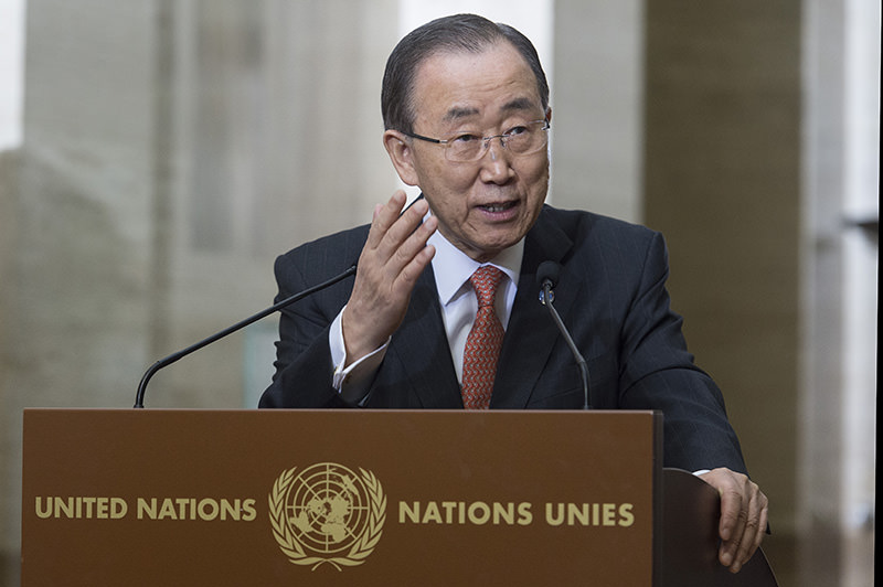 UN Secretary General Ban Ki-moon (AP Photo)