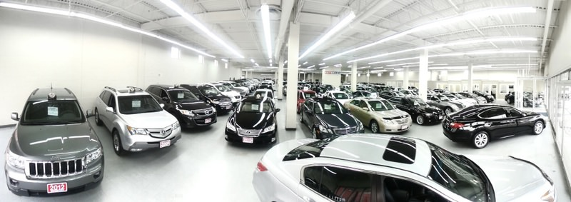 Retail sales dipped 0.1 percent last month as automobile purchases fell and cheaper gasoline undercut revenues at service stations.