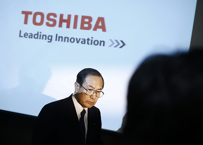 Toshiba Corp President and CEO Masashi Muromachi (Reuters Photo)