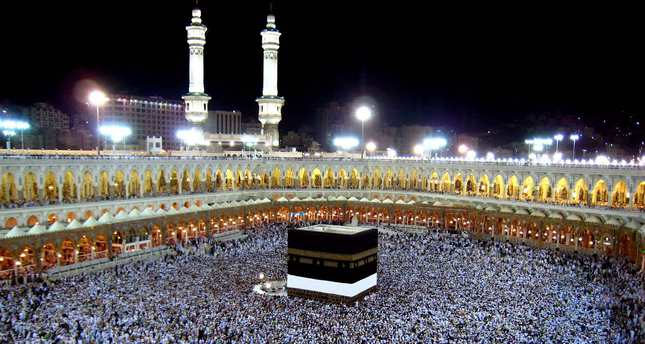 muslims side by side in kaaba why divided back home daily sabah