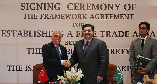 Turkey Pakistan Expected To Sign Free Trade Agreement Daily Sabah
