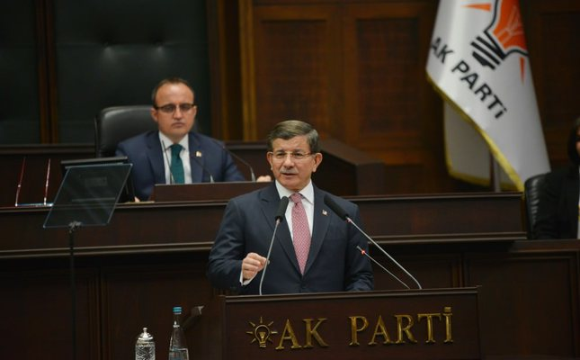 PM Davutoğlu calls on CHP to take clear stance against terror, thanks MHP for support