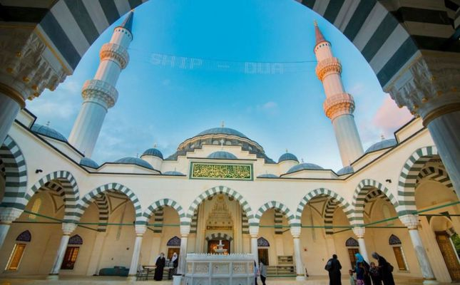 Largest Mosque In Us Features Ottoman Design Daily Sabah