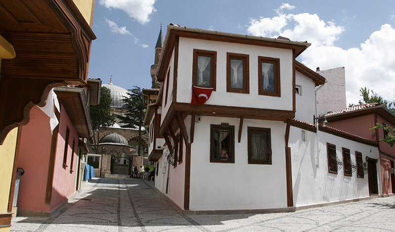 Odunpazaru0131 district in Eskiu015fehir province was also built based on Ottoman architecture (Sabah Photo)