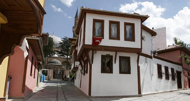 Odunpazarı district in Eskişehir province was also built based on Ottoman architecture (Sabah Photo)