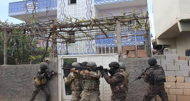 12 PKK terrorists killed in southeast: Turkish military