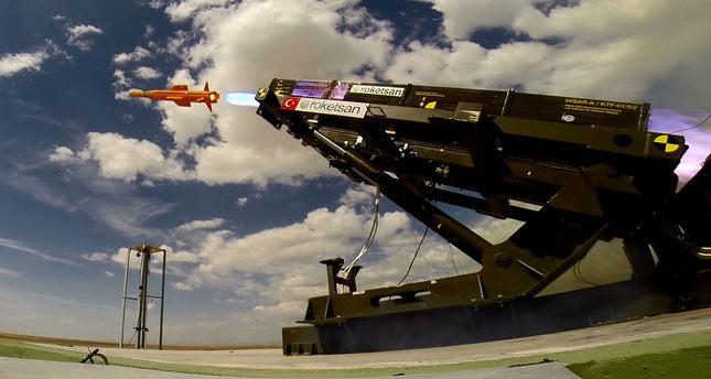 Roketsan's HİSAR air defence system (Photo courtesy of Roketsan)
