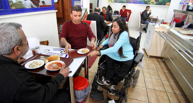 Turkish restaurant run by the disabled, accessible to everyone