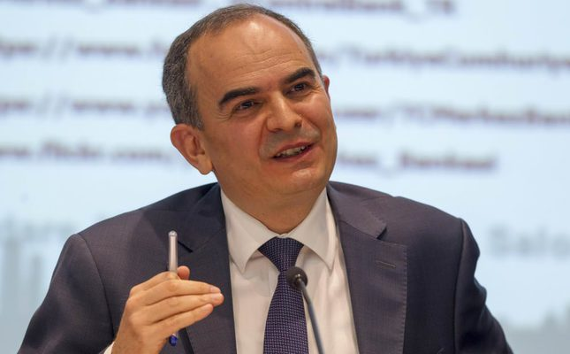 Turkish Central Bank's Governor Erdem Başçı