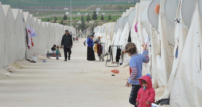 More than 272,000 Syrian and Iraqi refugees live in 26 camps in Turkey's border cities.
