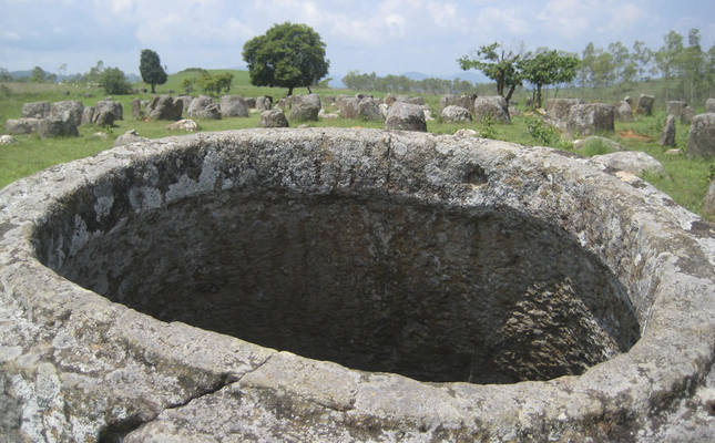 Ancient burials revealed at mysterious Plain of Jars in Laos