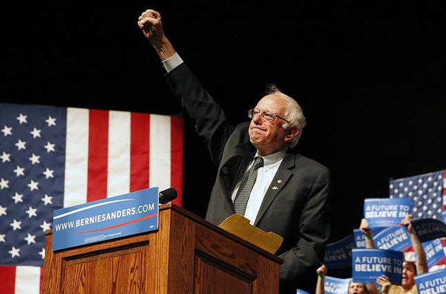 Bernie Sanders won the Democratic presidential primary in Wisconsin Tuesday. (AP Photo)