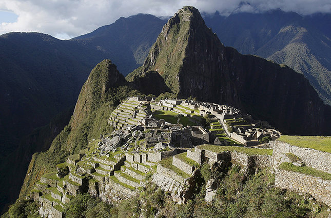 A general view of the Inca citadel of Machu Picchu is seen in Cusco, Peru. (Reuters Photo)