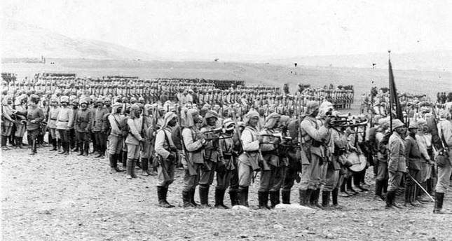 Ottoman forces arrived at the outskirts of Kut al-Amara on December 7, 1915