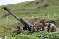 Armenian militias use heavy weapons to attack Azerbaijani military units in Nagorno-Karabakh region.