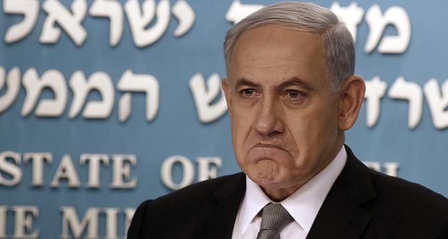 Israeli Prime Minister Benjamin Netanyahu during a press conference in Jerusalem on 02 december 2014 (EPA Photo)