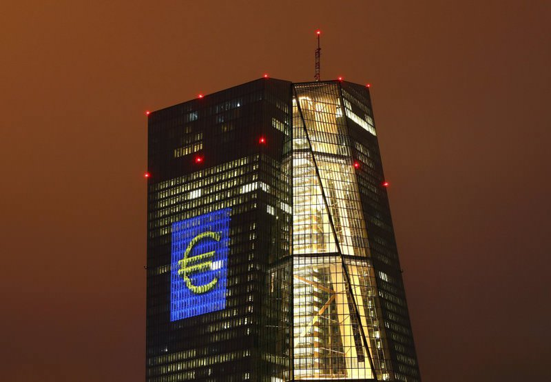 Top ECB officials responded to criticism of their stimulus efforts from some German politicians, emphasizing their determination to revive the economy and raise inflation.