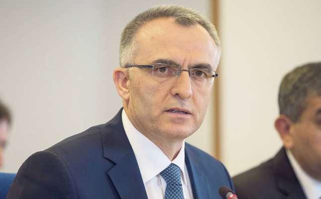 Finance Minister Naci Ağbal