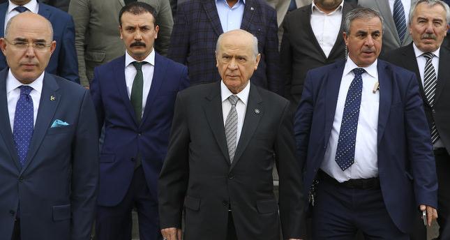 MHP Leader Devlet Bahçeli (C)