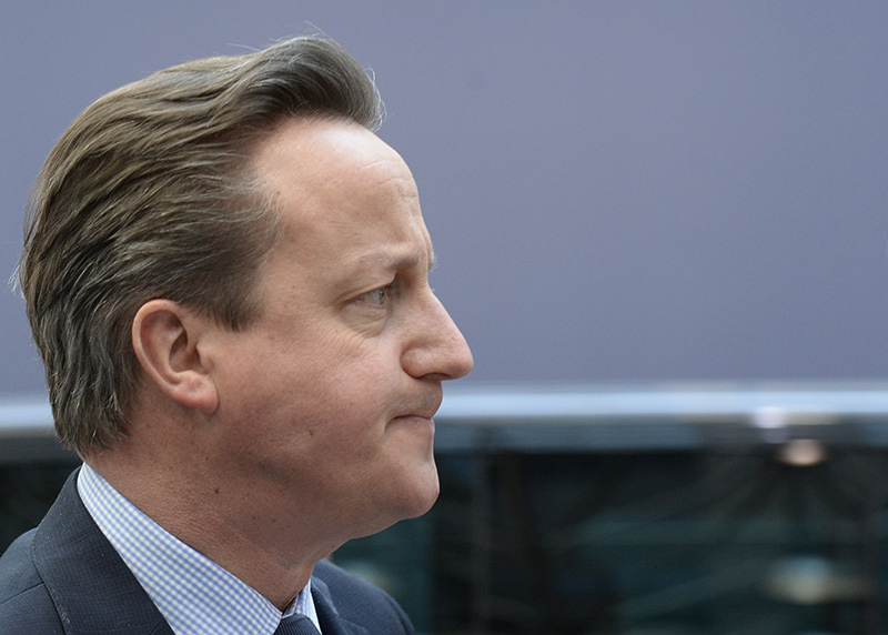 Britain's Prime minister David Cameron (AFP Photo)
