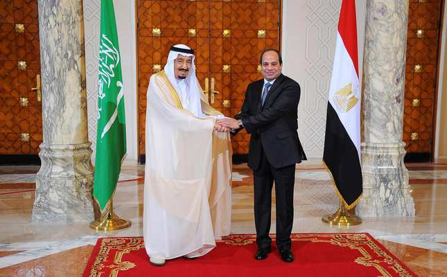 Saudi King Salman pays official visit to Egypt