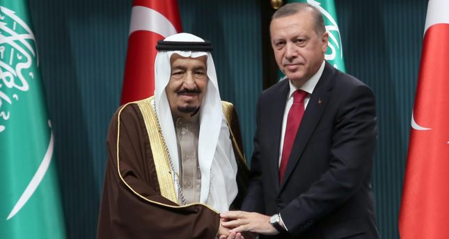 Saudi King Salman welcomed with official ceremony in Ankara