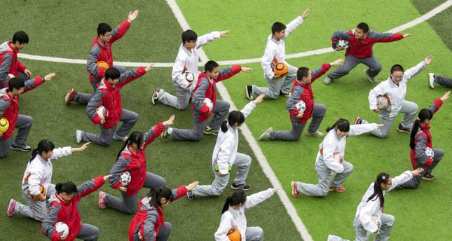 China football plan envisions 50M players