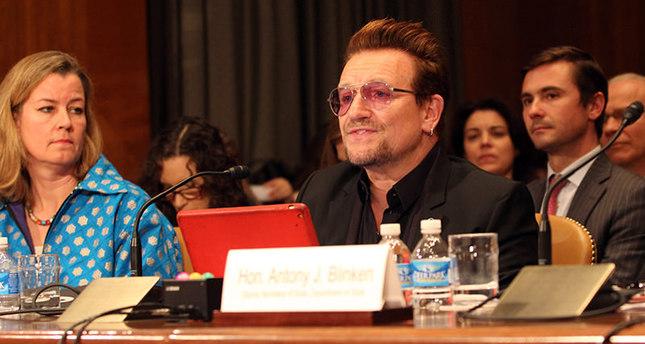 Bono tells US lawmakers 'Marshall Plan' necessary to fight terrorism