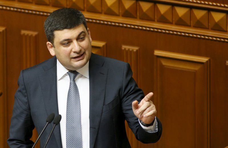 Volodymyr Groysman (AFP Photo)