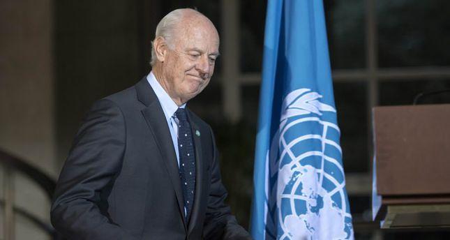 UN's special envoy for Syria Staffan de Mistura