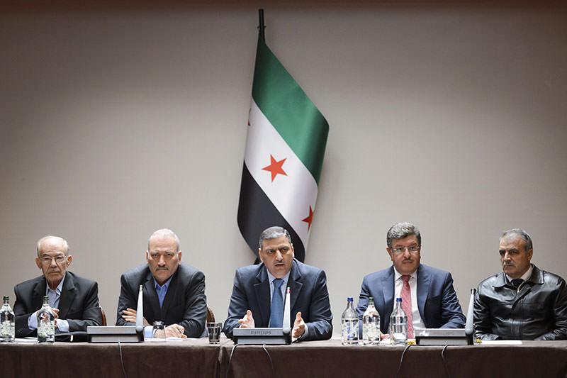 Syrian opposition body (HCN) members: Key Syrian rebel groups vowed on April 18 to strike back against regime ceasefire violations (AFP)