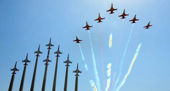Turkey's biggest aviation park 'Turkish Stars' opens with impressive show