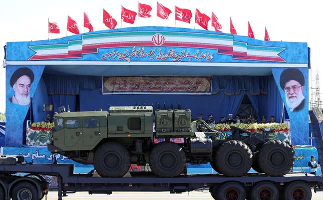 Iran shows off Russian S-300 defense system