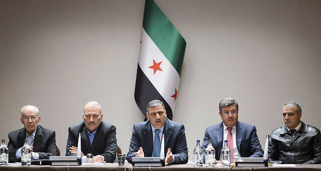 Syrian opposition body HCN members: Key Syrian rebel groups vowed on April 18 to strike back against regime ceasefire violations AFP