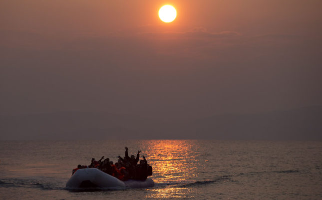 Calm in Aegean Sea as migrant crossings see sharp drop